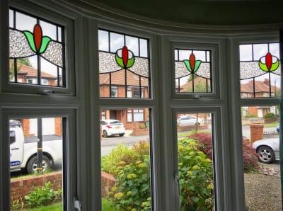 Leaded Bay Window Altrincham