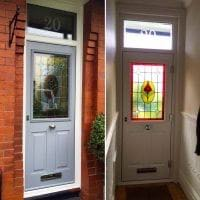 Original Stained Glass & Reinstated