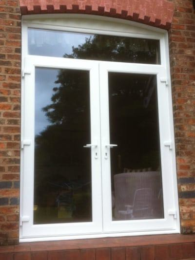 Simple French Doors