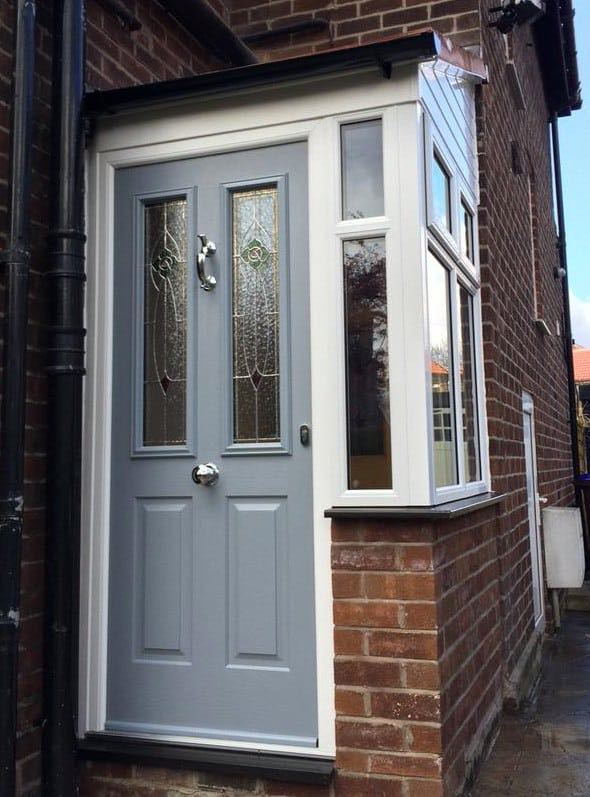 Latest installations gallery from the window company manchester - Anthracite Grey Ludlow Solidor The Window Company