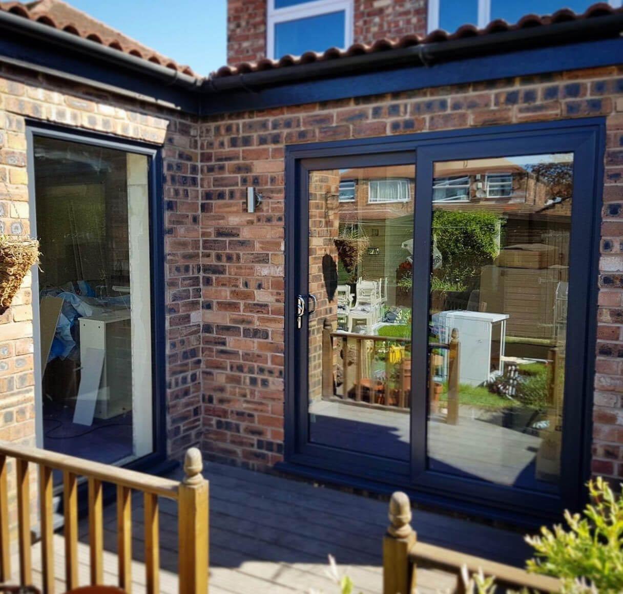 timeless design 5ed28 4100e Anthracite Grey Patio Doors - The Window Company