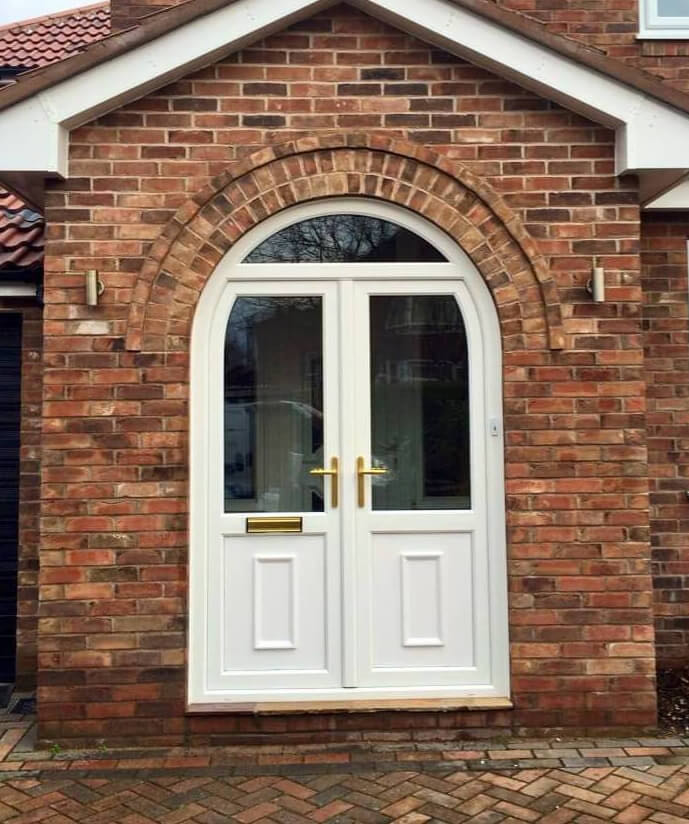 Doors archives page 3 of 14 the window company for Arched upvc french doors