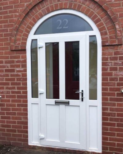 Arched Upvc Door, Stretford
