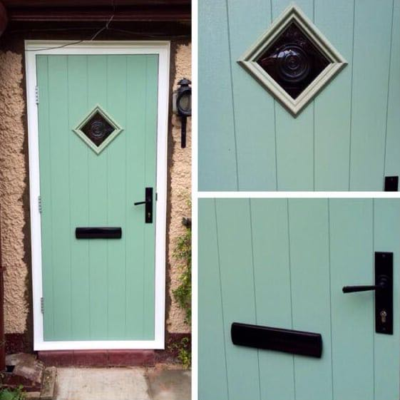 Cottage Style Flint Solidor Chartwell Green The Window