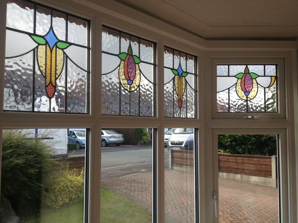 Period Stained Glass Bay Window Sale The Window Company