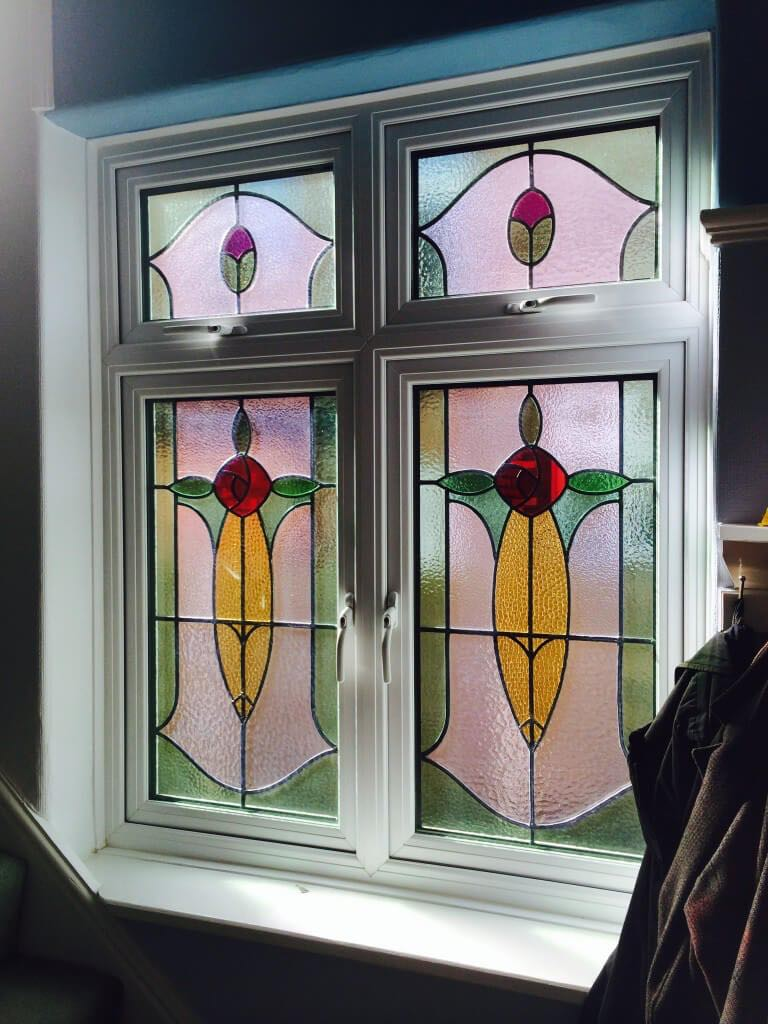 Leaded Stained Glass Window Sale Cheshire The Window Company