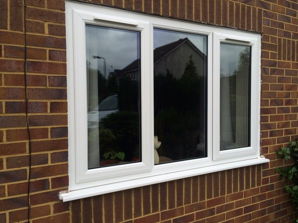 Trickle vents in white upvc window the window company for Upvc windows
