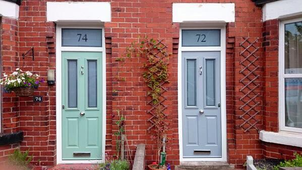 Latest installations gallery from the window company manchester - Next Door Neighbours With Same Solidor The Window Company