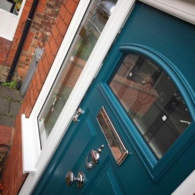 Peacock Blue Solidor