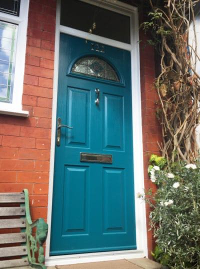 Peacock Blue Solidor Chorlton