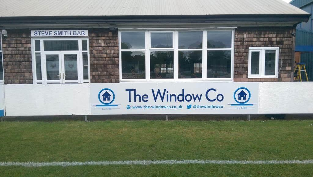 The Window Co Sponsership
