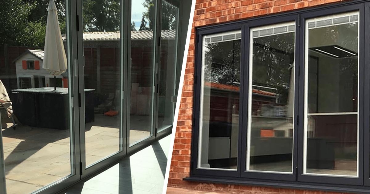 Bi Fold Doors The Window Company Manchester