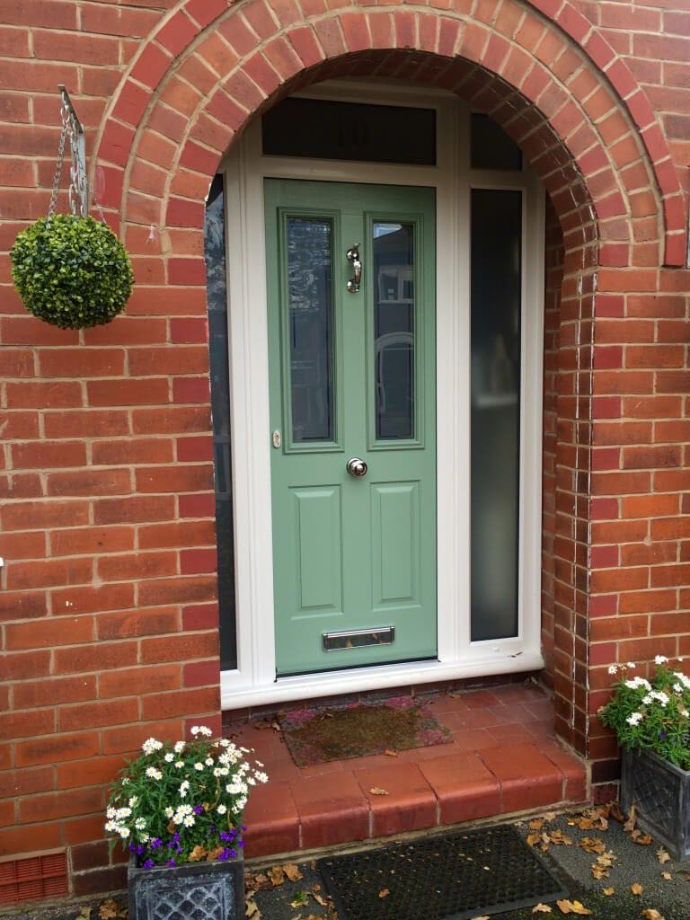 The door complete with the bespoke features really does complement - Victorian Style Solidor In South Manchester The Window